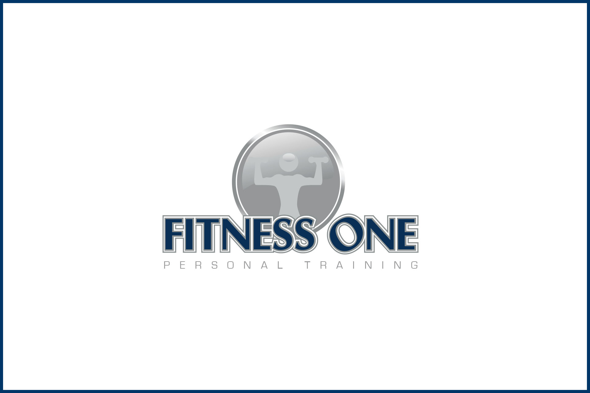Fitness one final logo port
