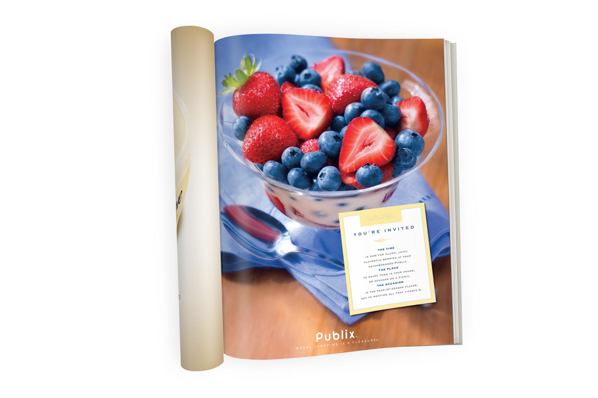 Publix berries ad