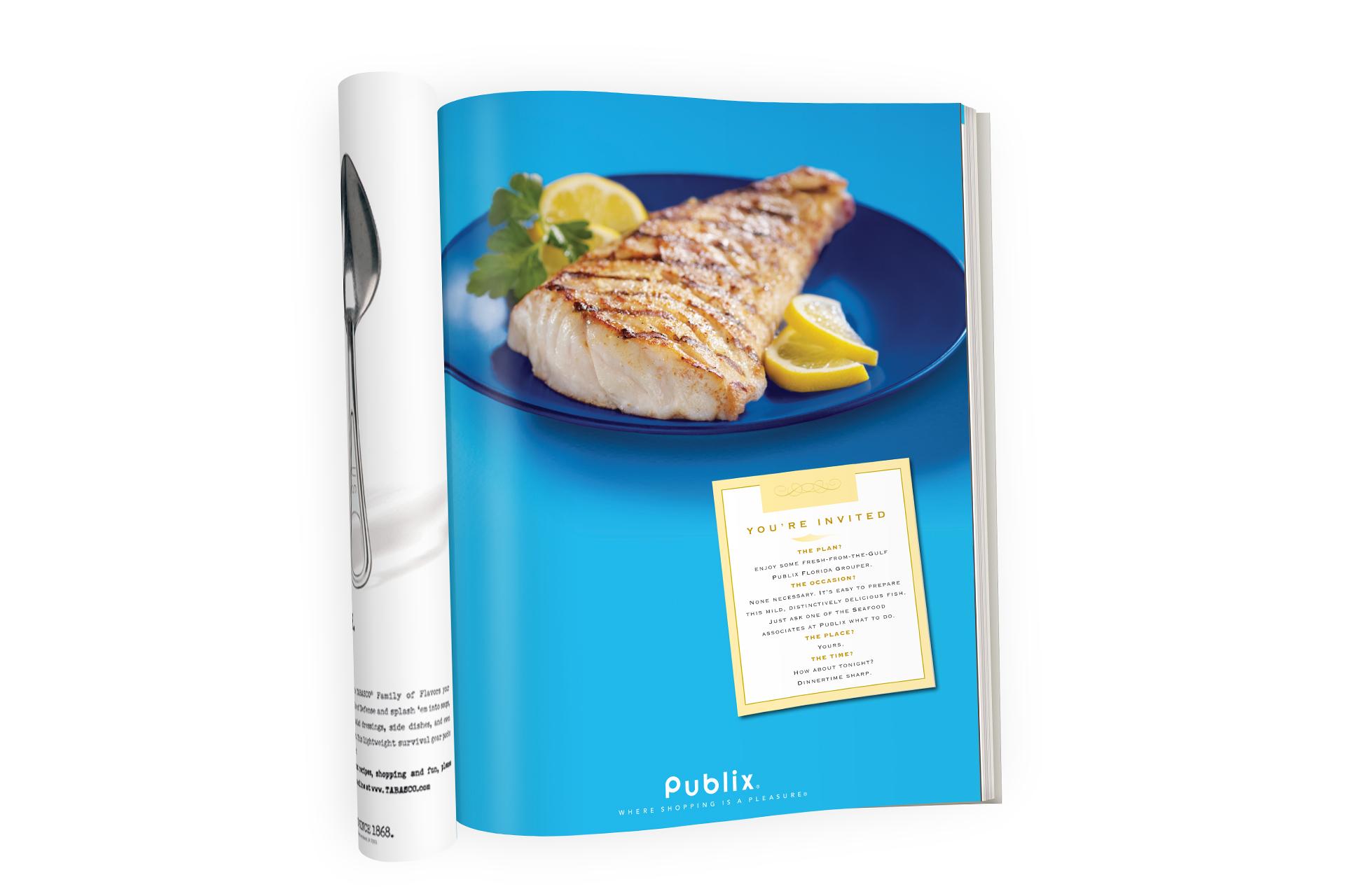 Publix fish ad